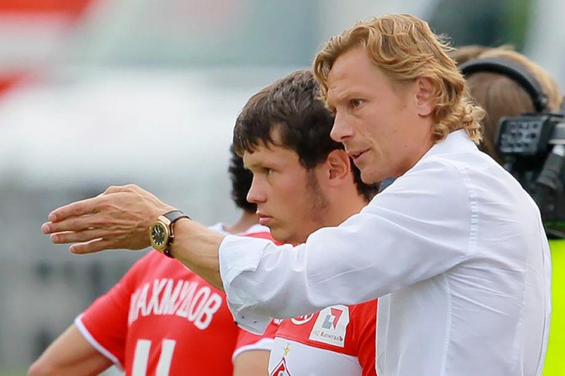 Александр Козлов и Валерий Карпин