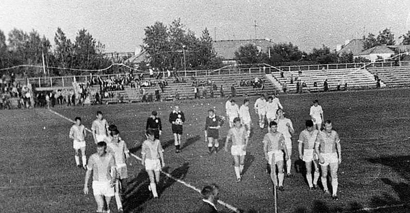 Стадион «Машиностроитель» в Балашихе. Конец 60-х — начало — 70-х