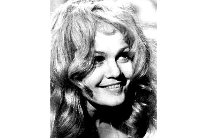 Ольга Яковлева в начале 1960-х
