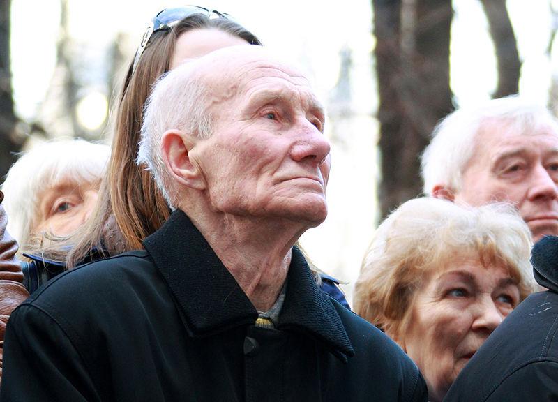 Лев Нетто — старший брат Игоря Нетто. Апрель 2011 года