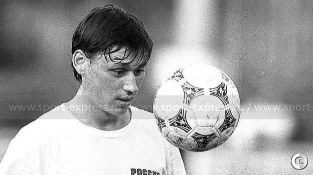 1994 год. Илья Цымбаларь на тренировке сборной России.