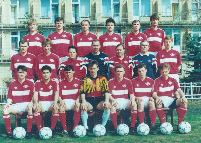 Золотой «Спартак» начала 1990-х