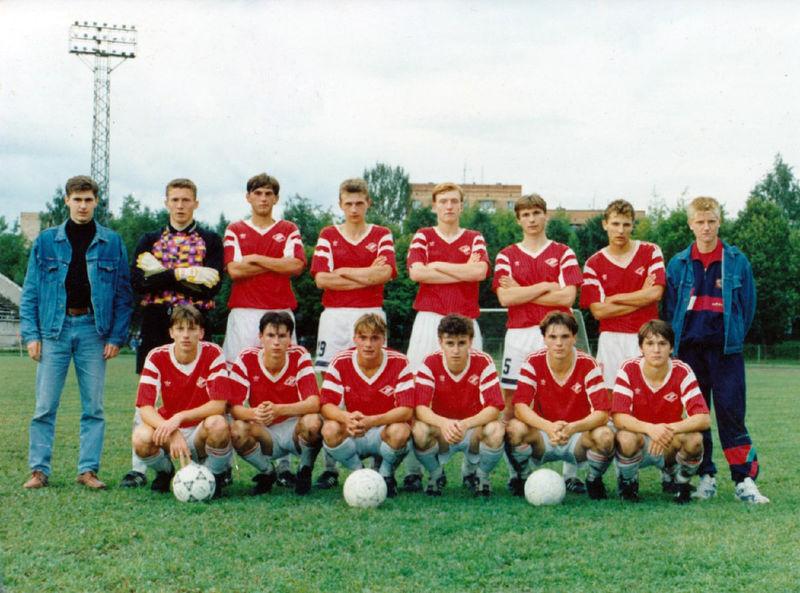 «Спартак-д» — победитель третьей зоны третьей лиги сезона-1994. Титов, Евсеев…